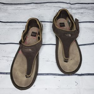 The North Face Brown Gladiator Thong Sandal Size 8